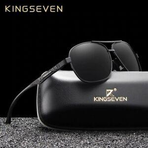 Kingseven Brand New Men Polarized Aluminum Sunglasses Uv400 Mirror Classic