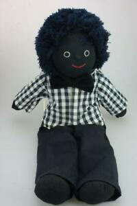 Handmade-Mel-amp-Steff-Soft-Toy-Doll-Wool-Hair-Made-in-Sri-Lanka-amp-Clothed-KC487