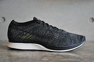 Racer Nike Flyknit voltio oscuro negro Negro blackout Gris gx5x1