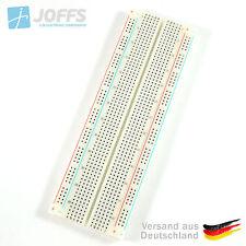 Steckbrett Solderless Breadboard Experimentierbrett 830 Kontakte / Pins
