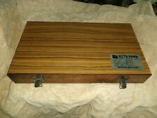 Mitutoyo Gage Block Set Grade B 516 904 Machinist Tool Maker Inspection