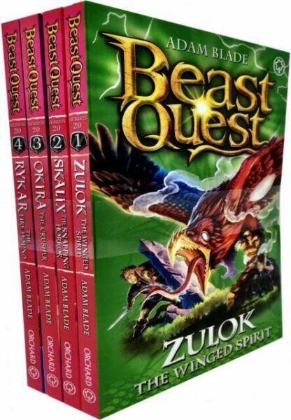 beast quest series 20 adam blade 4 books collection set