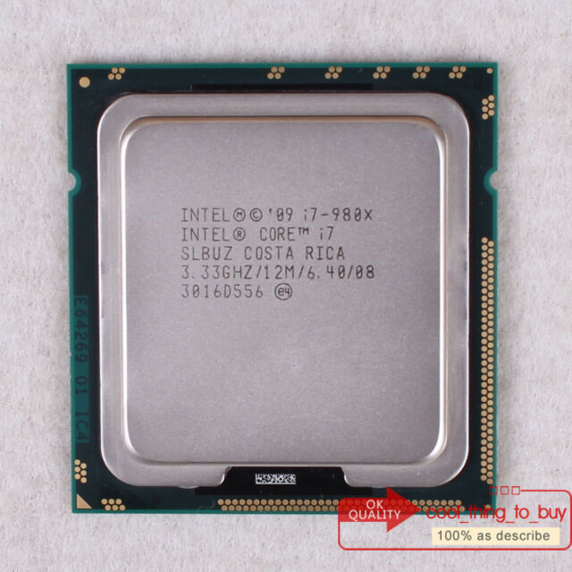 UK-Free shipping Intel Core i7-980X Extreme Edition SLBUZ 3.33 GHz CPU Processor