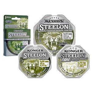 150m-cuerda-angel-kevlon-Steelon-Fluorocarbon-coated-fishing-line-mono-cuerda-Bf