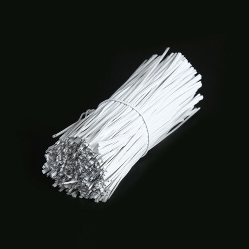 1000PCS Metal Cord Data Cable Organizer Binding Bags Packaging Wire Twist Ties