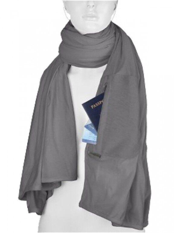 Travelon Scarf Rfid Hidden Bag Reiseschal Travel Blanket