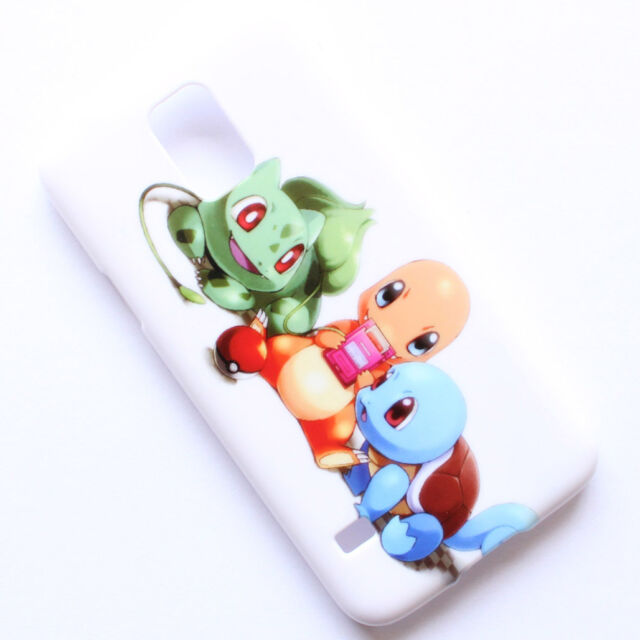 Pokemon Charmander Squirtle Bulbasaur Pikachu Case Cover  For Samsung Galaxy S5