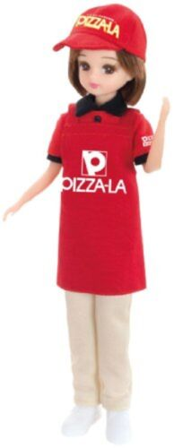 Clerk/'s Licca-chan doll LD-12 Pizza-La Free Shipping with Tracking# New Japan