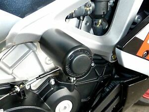 APRILIA TUONO V4R APRC CRASH MUSHROOMS PROTECTOR SLIDERS BUNGS BOBBIN S3ZH