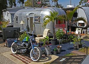 Details about 1954 Airstream Flying Cloud Whaletail