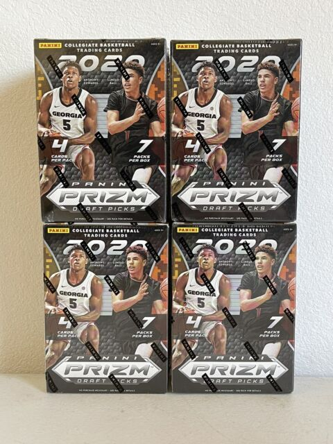 2020-21 Panini Prizm Draft Picks Basketball NBA Blaster Box Brand New Sealed 1
