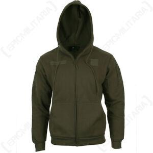 Ranger-Green-Hoodie-Army-Military-Tactical-Warm-Headphone-Port-Hooded-New