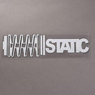Vinyl Static Sticker Decal lowered slammed