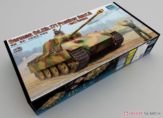 1  16 trumpetare German Sd.Kfz.171 Panzerkampwagen V Panther G Early