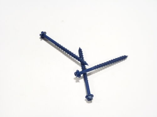 "Pro Twist Concrete Screw Anchor Hex Washer Head 3//16 x 2-3//4/"" 100pc #HC32341C"