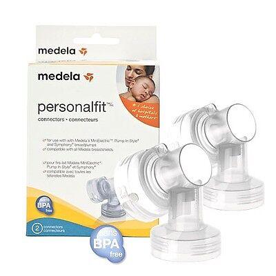 2 Medela Personal Fit BreastShield Breast Shield Connectors 87071