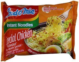 30 HALAL Certified Chicken Rasa Indomie Mi Goreng Instant Stir Fry Noodles