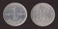 FINLANDIA 1 PENNI 1972 SUOMEN TASAVALTA