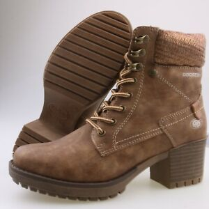 Neu DOCKERS Damenschuhe Stiefeletten Damen-Stiefel Boots Wanderstiefel Schuhe