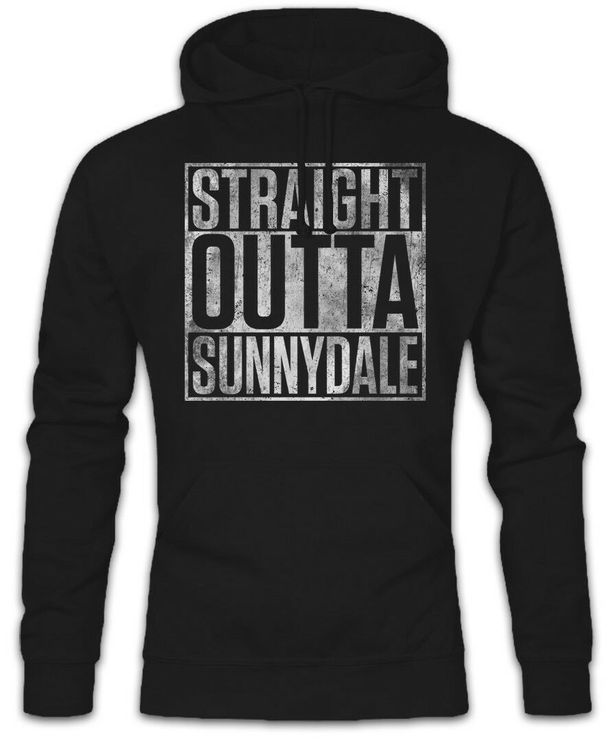 Straight Outta Sunnydale Hoodie Sweatshirt Buffy The Fun Vampire Xander Willow