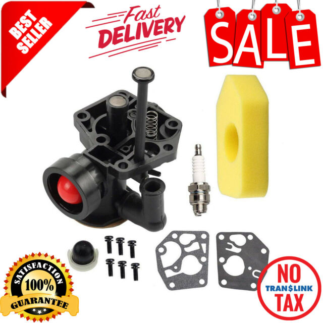 Carburetor Assembly For Briggs Engine 3.5 HP Weed Eater Push Mower Generator New