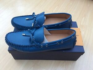 ae51c0c8a2bf NEW LOUIS VUITTON ARIZONA MENS LOAFERS SHOES UK 9.5 43.5 CAR SHOE