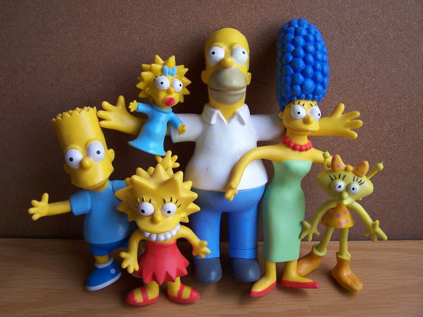 THE SIMPSONS ONE OF A KIND SET of 6 ALIEN SISTER SOOZI SUPER RARE