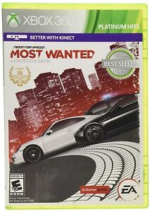 Need for Speed Most Wanted Xbox 360 EA Sports Cars Racing - Brand New!