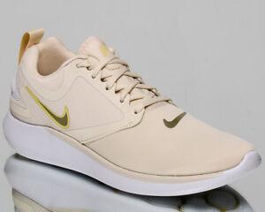 f4045dfc80e5 Image is loading Nike-Wmns-LunarSolo-Women-Light-Cream-Metallic-Gold-