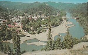 U-Jenner-CA-Bird-039-s-Eye-View-of-Russian-River-and-Surroundings
