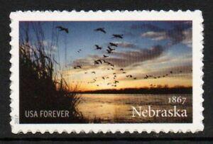 Estados unidos 2017-Nebraska statehood-s/a-MINR. 5372; Scott # 5179
