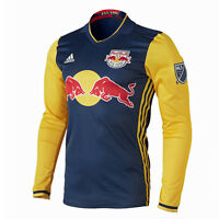 Ny Red Bulls Authentic Away Jersey 2016 Dark Blue Soccer Jersey 7414a Rd3