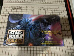 Star Wars Galaxy 1993 140 Card Collection STAR WARS Sealed Box 36 Packs NEW