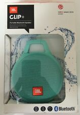 JBL Clip Plus Portable Bluetooth Splashproof Speaker Teal **Brand New & Sealed**