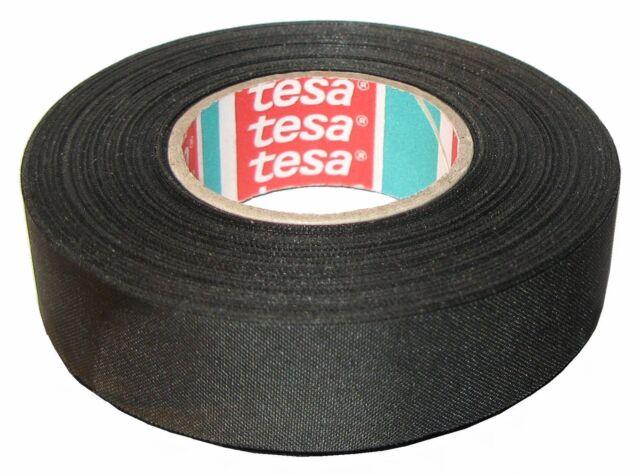 TESA 51025 19mm x 25m NASTRO ISOLANTE PER CABLAGGI IN TESSUTO DI POLIESTERE