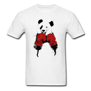 8d8ddeae Image is loading Boxing-Panda-shirts-Funny-birthday-gift-Training-Fitness-