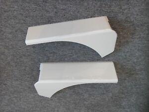 Swift-Sterling-Elddis-Caravan-White-Top-Corner-Covers-Pair-for-Rear-Panel-RPTCC