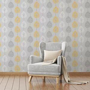 Papier Peint Decoration Fine Caracteristique Arbre Feuillage
