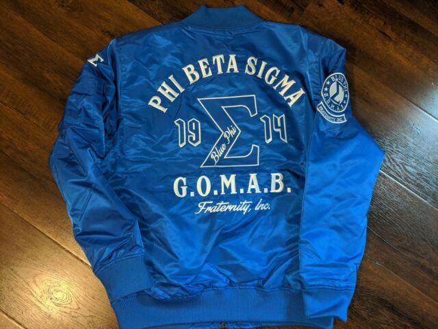 Phi Beta Sigma Fraternity Line Jacket 1914 PHI BETA SIGMA WOOL VARSITY JACKET