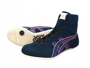 asics wrestling shoes pink
