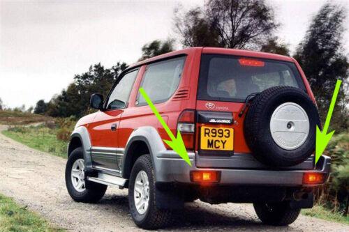 TOYOTA  LAND CRUISER FJ90 1996-2002 Rear Tail Bumper Light Lamp LEFT /& RIGHT x 2