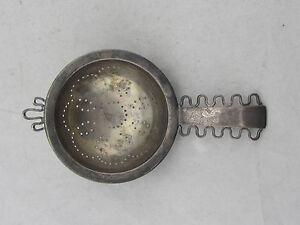Vintage-COHR-Denmark-Danish-Sterling-Silver-Tea-Strainer