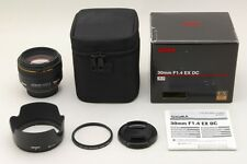 【MINT IN BOX】Sigma 30mm F1.4 EX DC HSM for Nikon from Japan #34