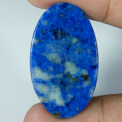 Fancy Cabochon Loose Gemstone Cushion 100/% Natural Blue Lazulite Oval Pear