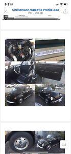Vw super beetle 1976 convertable