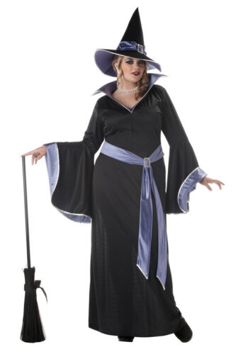 Brand New Plus Size Incantasia The Glamour Witch Adult Halloween Costume
