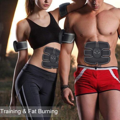 Smart Abs Stimulator Abdominal Muscle Training Pad Ems Body Fit Slimming/'Trai WL