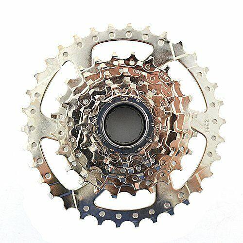 DNP 7 Speed Screw-on Freewheel Nickel Plate 11-34T