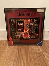 Ravensburger Disney Villainous Queen of Hearts 1000 PC Jigsaw Puzzle