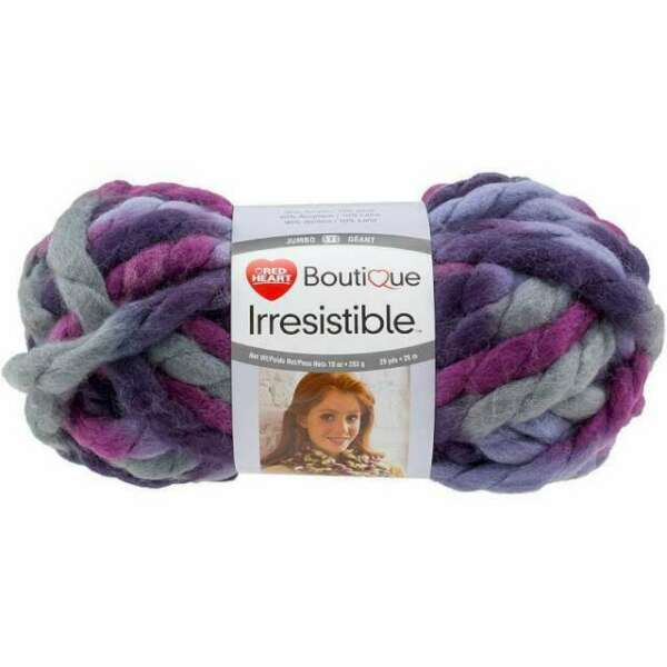 Coats Yarn E848-7952 Red Heart Boutique Irresistible Yarn-Enchanting 3Pk